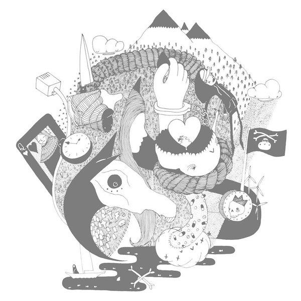 Jamie Hamilton - 'Circles' cover art